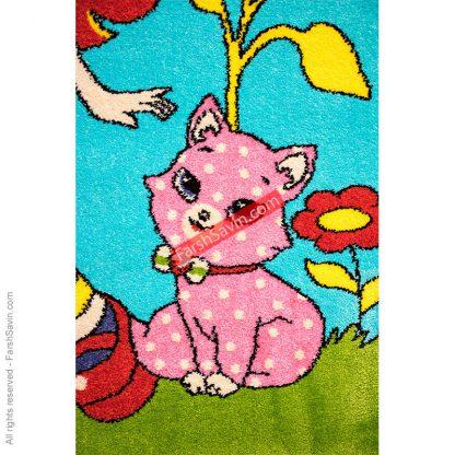 1183 قالیچه طرح کودک فانتزی فرش ساوین مازندران