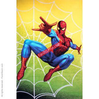 1187 طرح مرد عنکبوتی فرش ساوین مدرن