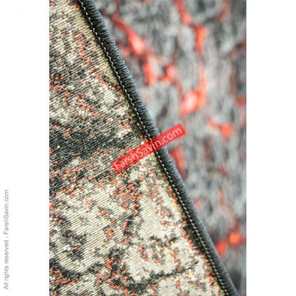 طرح 1318 مدرن ابریشمی کارخانه فرش ساوین