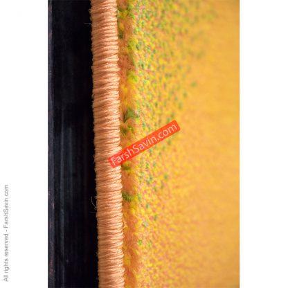 طرح 1331 فانتزی ابریشم گونه مدرن فرش ساوین