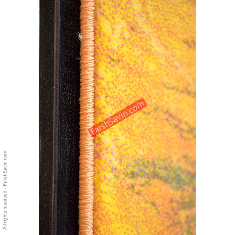 طرح 1333 فانتزی ابریشمی فرش ساوین