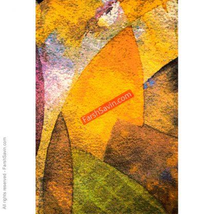 طرح 1340 مدرن ابریشمی فرش ساوین مازندران