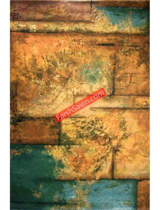 طرح 1346 فانتزی مدرن ابریشمی فرش ساوین