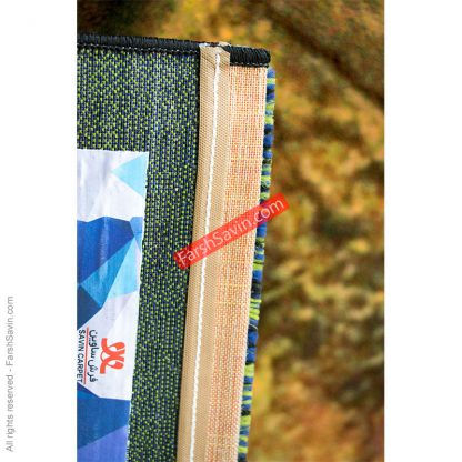 طرح 1346 فانتزی مدرن ابریشمی ریزبافت فرش ساوین
