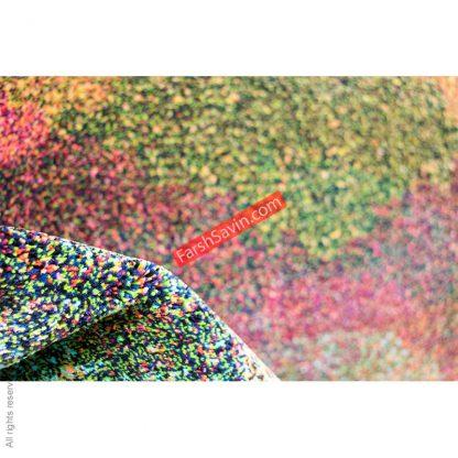 طرح 1350 ابریشمی فانتزی فرش ساوین
