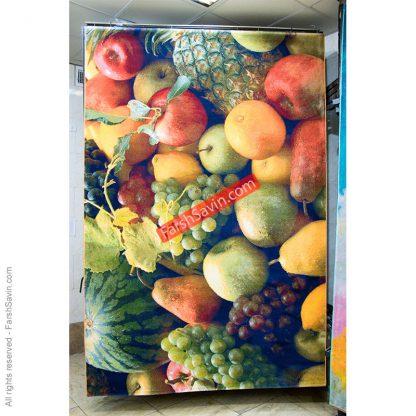 طرح 1355 مدرن 700 شانه میوه ایی فرش ساوین