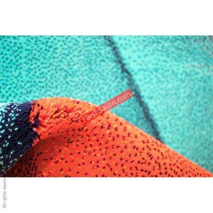 طرح 1356 مدرن فانتزی 700 شانه فرش ساوین