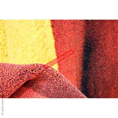 طرح 1361 مدرن فانتزی 700 شانه فرش ساوین