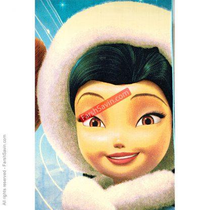طرح1367 فانتزی کودک انیمیشنی دختر اسکیمو فرش ساوین