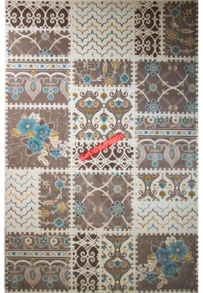 فرش ساوین 1501 آبی