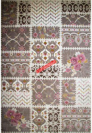 فرش ساوین 1501 صورتی
