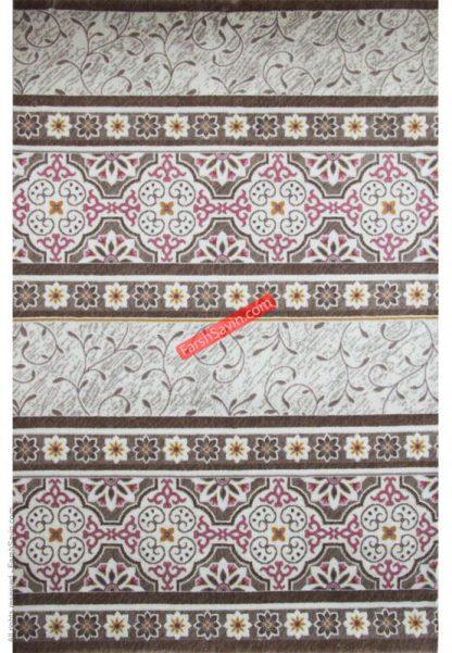فرش ساوین 1502 صورتی