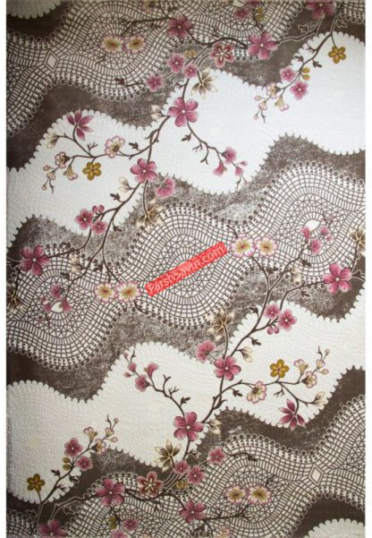 فرش ساوین 1503 صورتی
