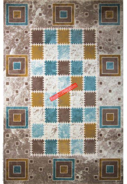 فرش ساوین 1504 آبی