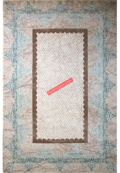 فرش ساوین 1505 آبی