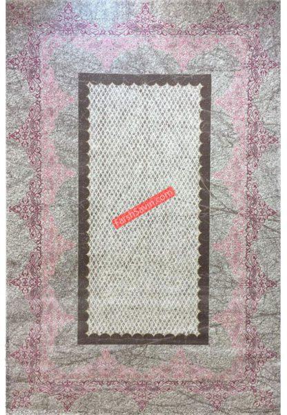 فرش ساوین 1505 صورتی
