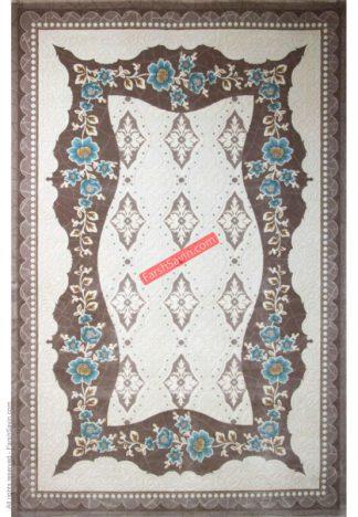 فرش ساوین 1507 آبی