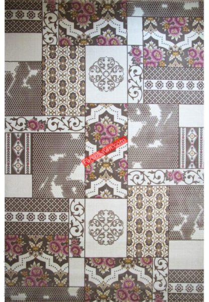 فرش ساوین 1508 صورتی