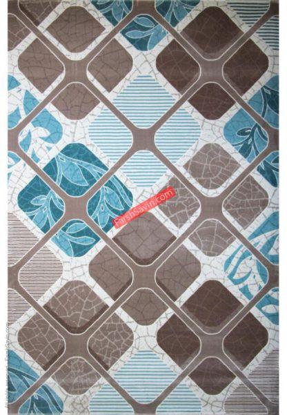 فرش ساوین 1510 آبی