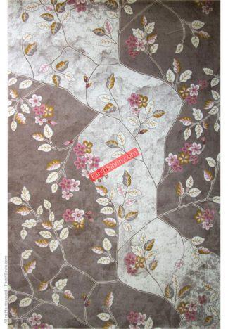 فرش ساوین 1512 صورتی