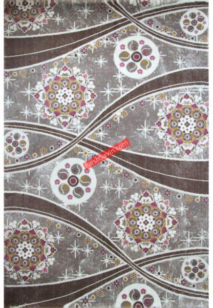 فرش ساوین 1513 صورتی