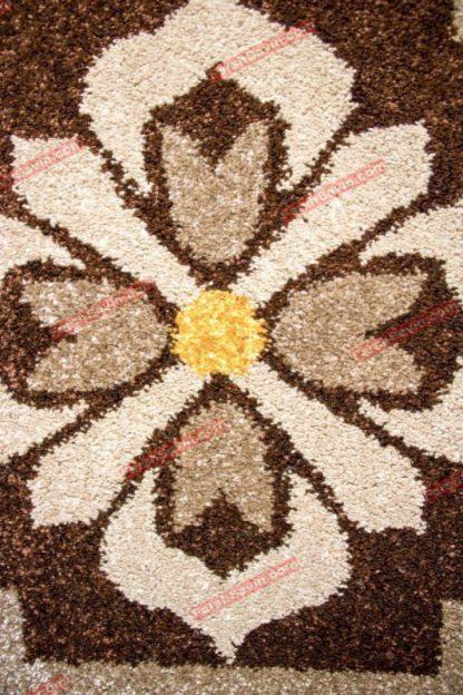 فرش ساوین 2001 شکلاتی
