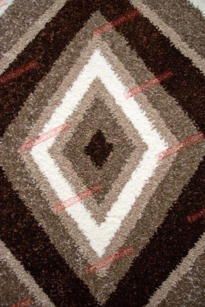 فرش ساوین 2002 شکلاتی