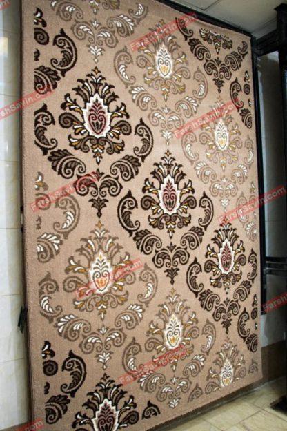 فرش ساوین 2003 شکلاتی