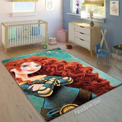فرش ساوین 1780 گیسوکمند اتاق کودک