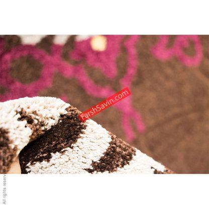 الوند قهوه ایی گلیم فرش دست بافت گونه فرش ساوین مازندران