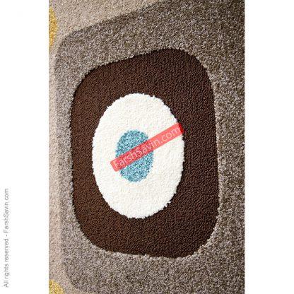 آوا شکلاتی گلیم فرش ساوین