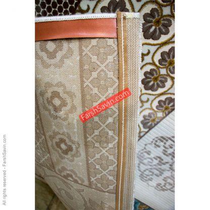 طرح 1508 آبی فانتزی فرش ساوین مازندران