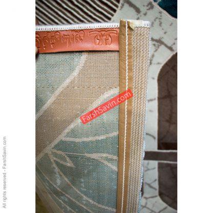 طرح 1510 آبی فانتزی فرش ساوین مازندران