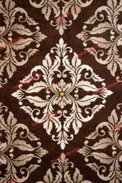 فرش ساوین کرانه قهوه ایی