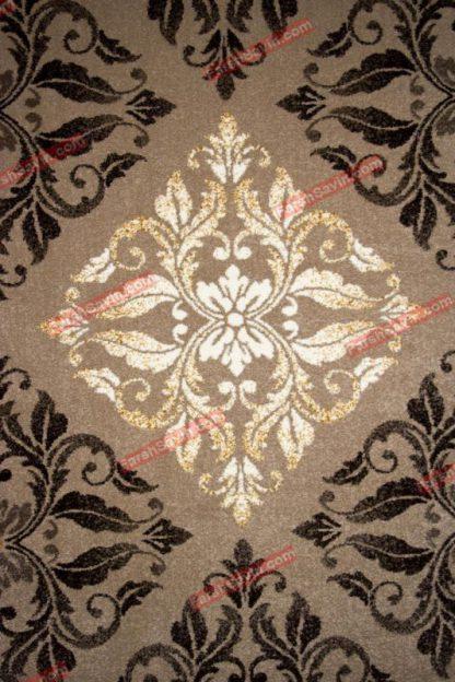 فرش ساوین کرانه شکلاتی
