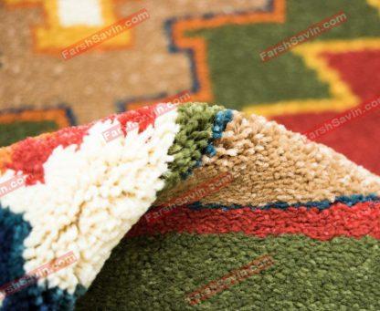 فرش ساوین نیایش سرمه ای
