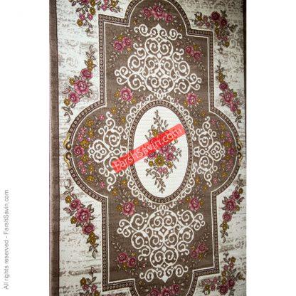 طرح 1500 صورتی فانتزی فرش ساوین