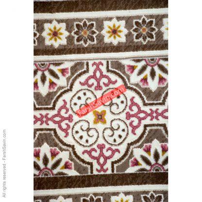 طرح1502 صورتی فرش ساوین