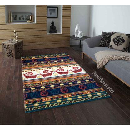 فرش ساوین شیوا لاکی سنتی
