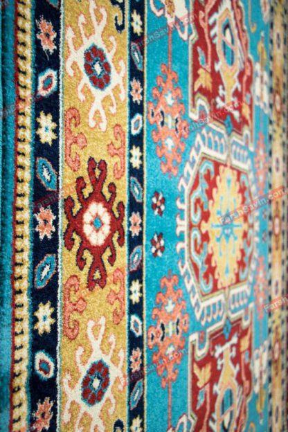 فرش ساوین طوبی آبی
