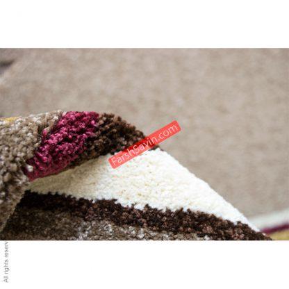 ویدا شکلاتی گلیم فرش ساوین