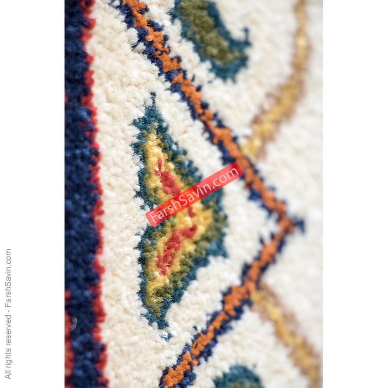 طرح به رخ لاکی فرش ساوین