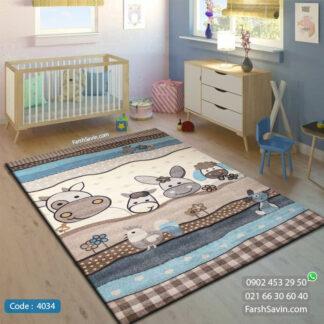 فرش کودک ساوین 4034