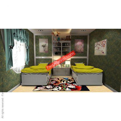 فرش اتاق کودک 7504 هتل ترانسیلوانیا