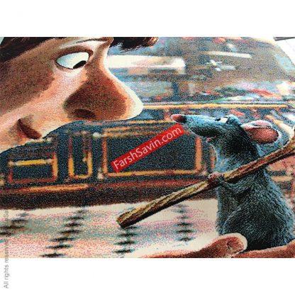فرش اتاق کودک موش سرآشپز ساوین 7506