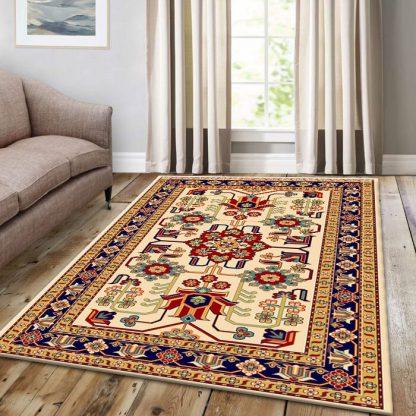 فرش ساوین مهربان 2 کرم سنتی