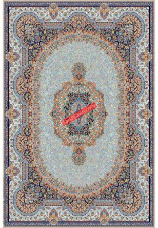 فرش ساوین 1573 بژ کلاسیک اتاق پذیرایی
