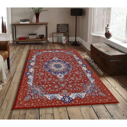 فرش ساوین 1575 لاکی کلاسیک اتاق پذیرایی