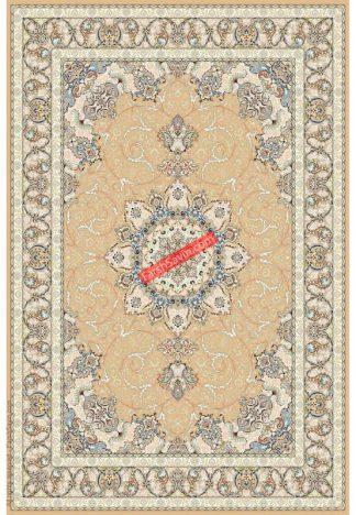 فرش ساوین 3000 بژ کلاسیک پذیرایی