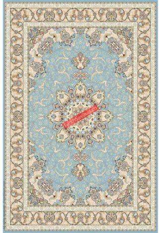 فرش ساوین 3000 آبی کلاسیک پذیرایی